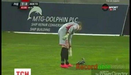 Дика качка зупинила футбольний матч чемпіонату Болгарії