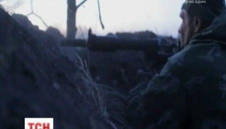 За ночь в зоне АТО ранения получил один военный