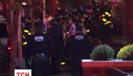Жилой дом загорелся в одном из самых богатых районов в Нью-Йорке, есть пострадавшие