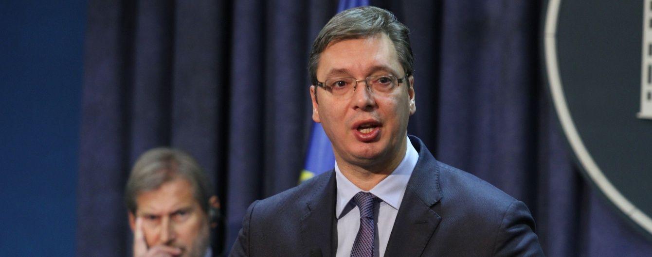 Сербский президент будет просить совет у Путина относительно обострения ситуации в Косово