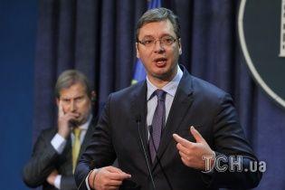 Сербський президент проситиме поради в Путіна щодо загострення ситуації в Косово