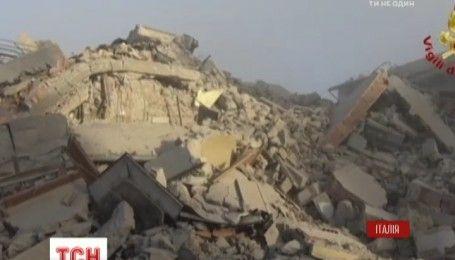 В Италии произошло самое мощное землетрясение за последние 35 лет