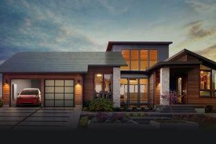 Tesla разработала солнечные панели для зарядки электрокаров