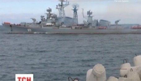 В НАТО назвали возможную цель перемещения кремлевских кораблей к сирийскому побережью