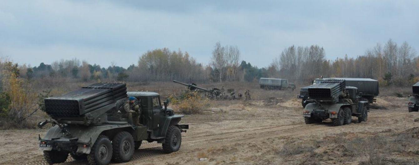 """""""Боги війни"""". У своє професійне свято військові показали потужну українську артилерію"""