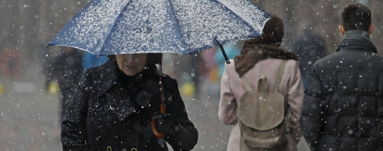 Новий снігопад уже на порозі: до України прямує циклон із Балтії