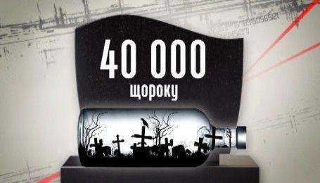 Масштабы распространения отравленного алкоголя