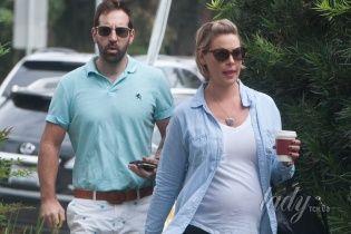 В ожидании первенца: беременная Кэтрин Хейгл заметно поправилась