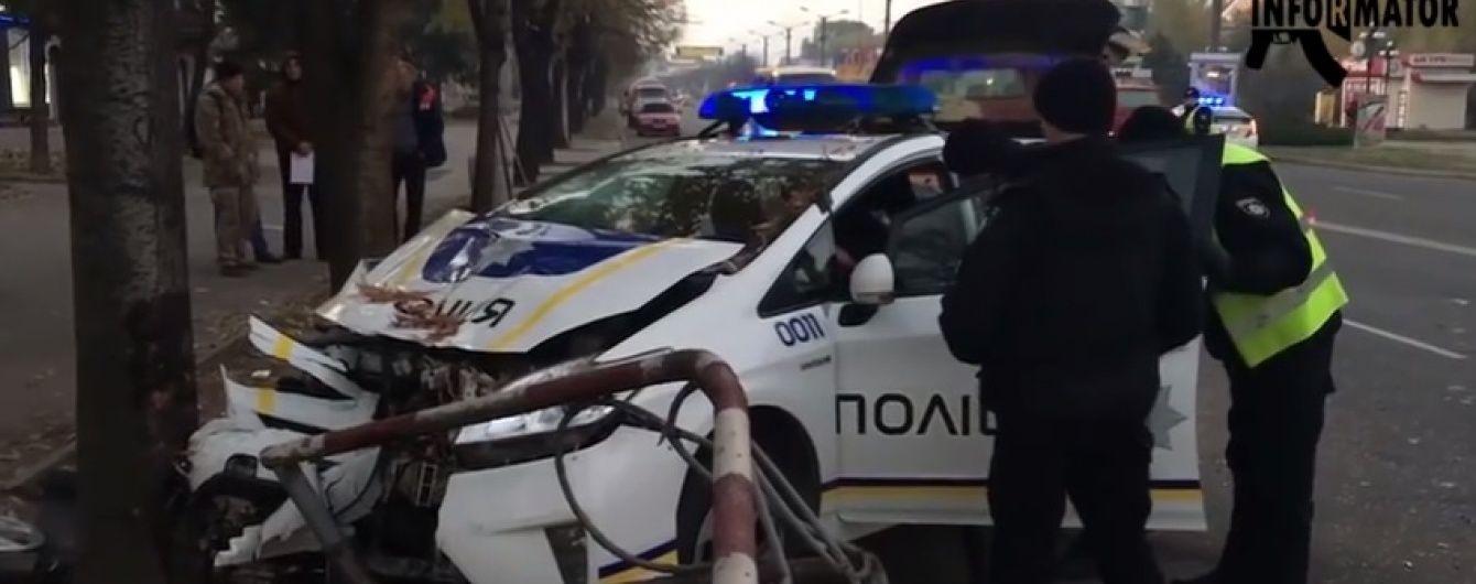 У Кривому Розі поліцейський заснув за кермом і врізався в легковик, є поранені