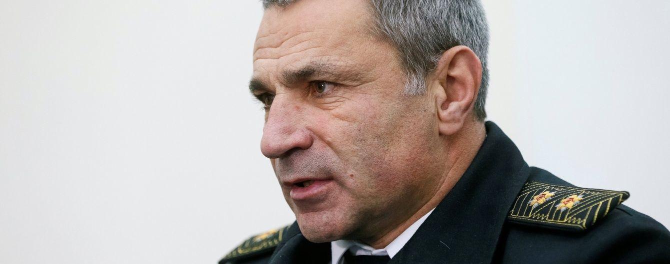 Полонених моряків у РФ змушують говорити неправду – командувач ВМС України