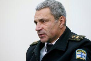 Глава ВМС Украины предложил обменять себя на пленных Россией моряков