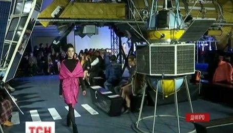 В Днепре в аэрокосмическом музее начался Fashion Weekend