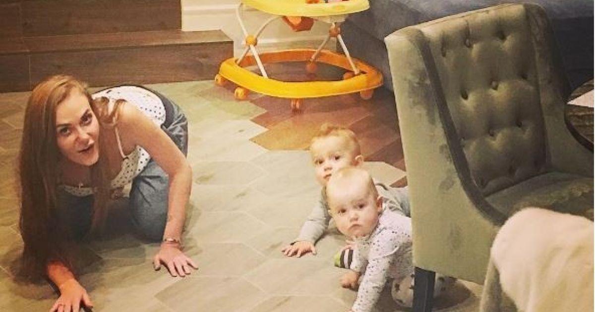 Астаф'єва показала підрослих малюків колеги @ instagram.com/da_astafieva