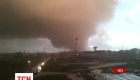 Италия пострадала от мощного урагана, есть погибшие