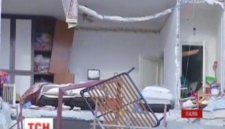 Мощный торнадо пронесся Италией, за полсотни километров от Рима