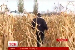 На Рівненщині понад півсотні правоохоронців з літаком та квадрокоптерами ловили автокрадіїв