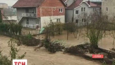 Сербія страждає від паводків