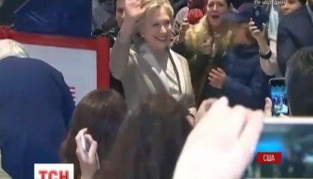 У штабі Гілларі Клінтон передбачена велика демократична вечірка