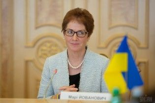 Посол Йованович розповіла, якою США хотіли б бачити Україну