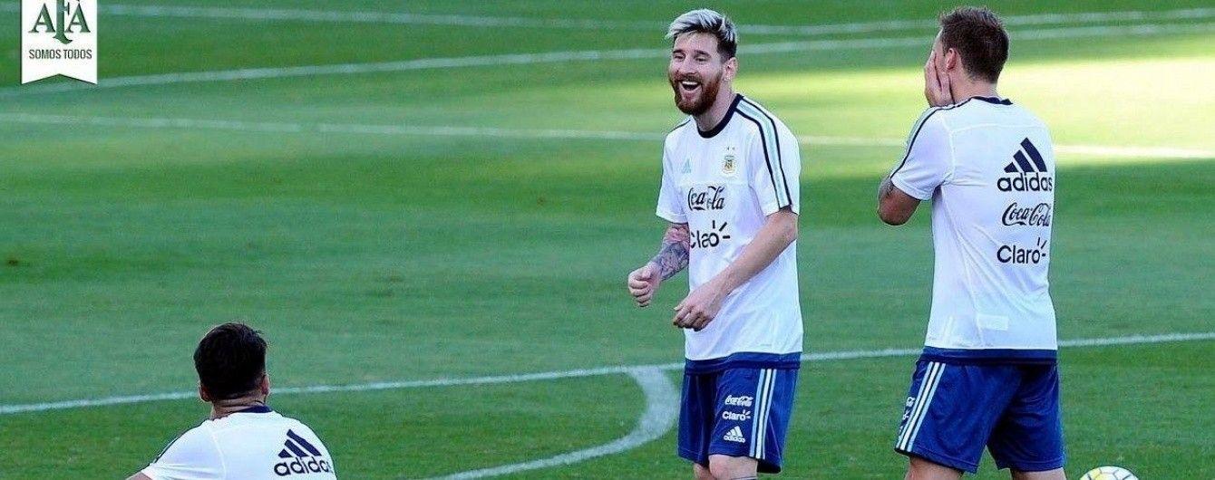 Мессі з'явився на тренуванні збірної Аргентини з новим татуюванням