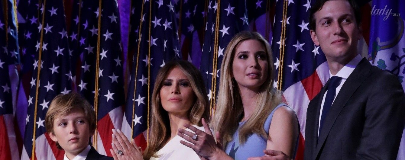 Дочь Дональда Трампа на его выступлении сверкнула стройными ногами в мини-платье