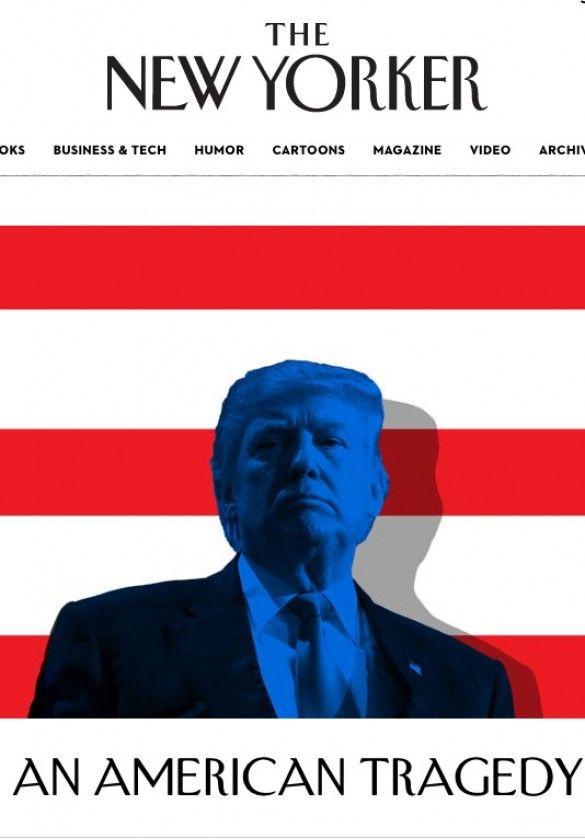 New Yorcker присвячений виборам у США