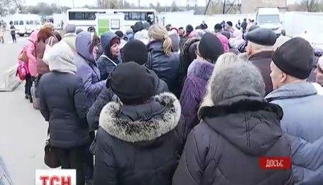 Боевики обстреляли гражданские автомобили на пункте пропуска вблизи Горловки