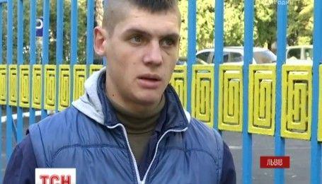 Во Львове курсанты жестоко избили своего однокурсника