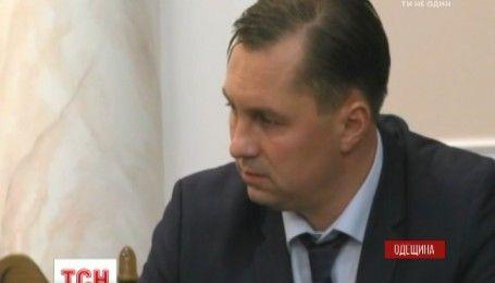 В Одессе представили нового полицейского руководителя и попрощались с Саакашвили флэшмобом