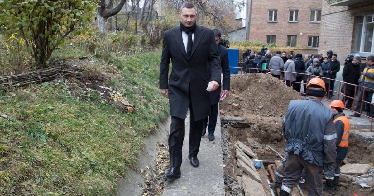@ facebook/Віталій Кличко