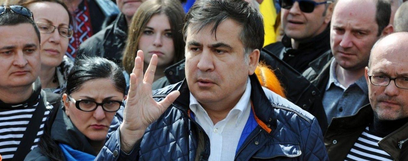 Саакашвілі оголосив про створення власної партії, з якою піде до Ради
