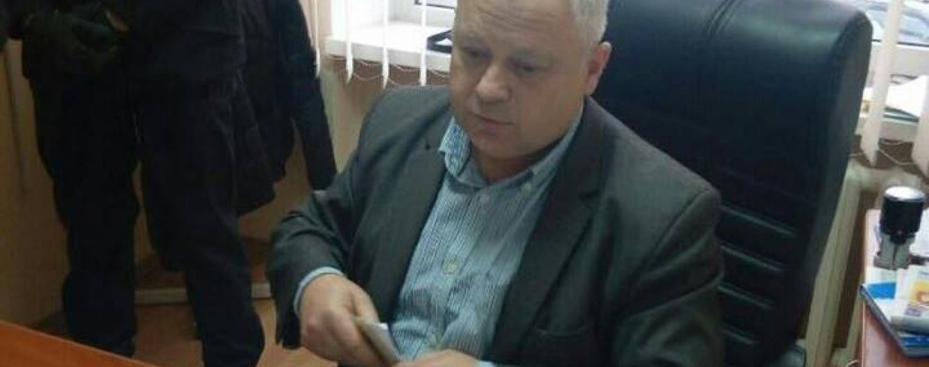 У Луцьку обласного чиновника затримали за хабарі від селян