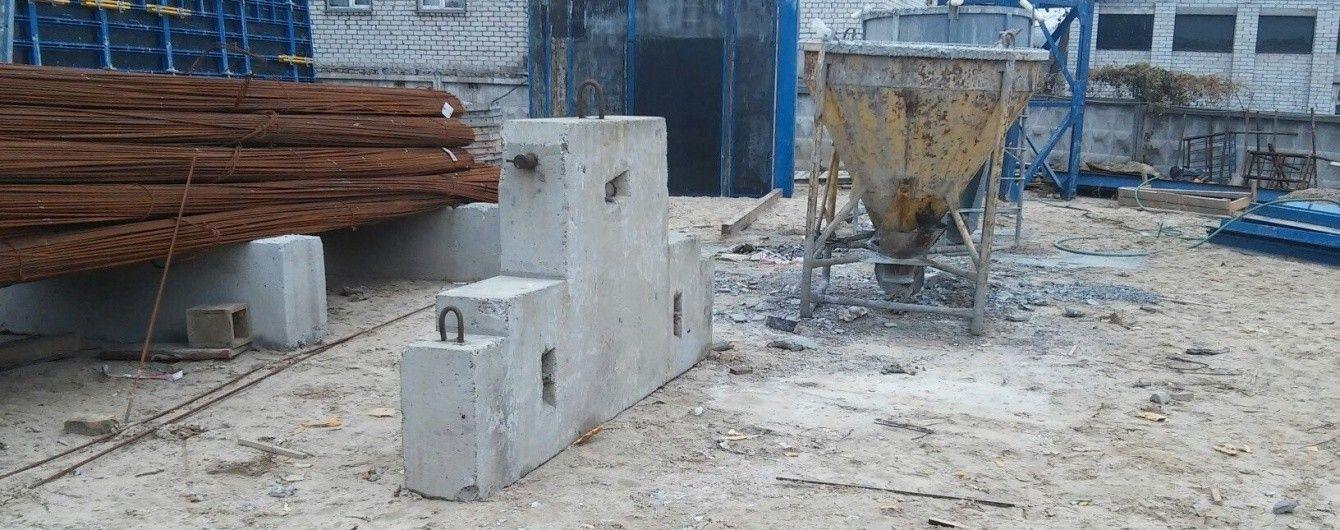 У Києві будівельника задавило бетонною конструкцією