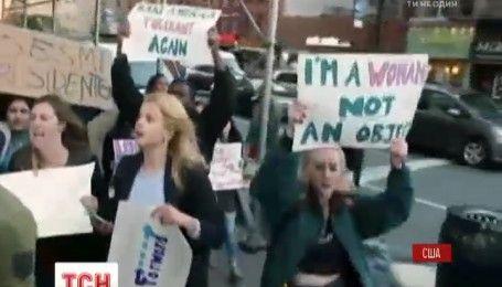 В США продолжают организовывать масштабные выступления против победы Дональда Трампа