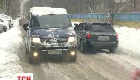 Из-за непогоды в столице произошло 40 ДТП