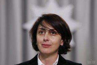 Деканоидзе заявила, что не возглавила бы Нацполицию при нынешнем правительстве Украины