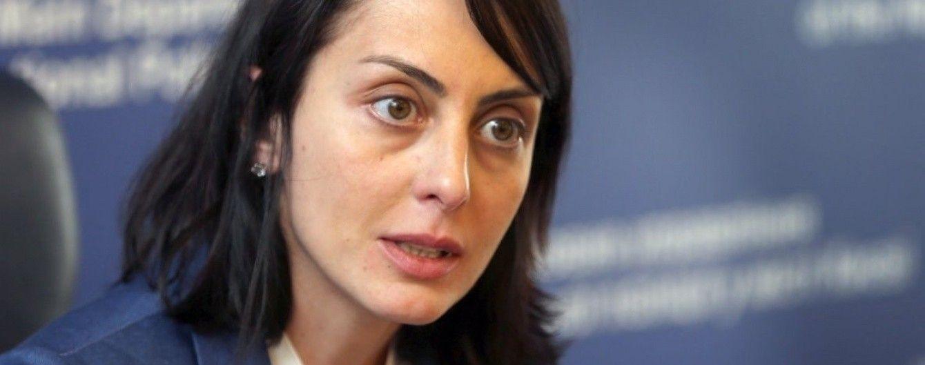 Деканоідзе офіційно оголосила про відставку
