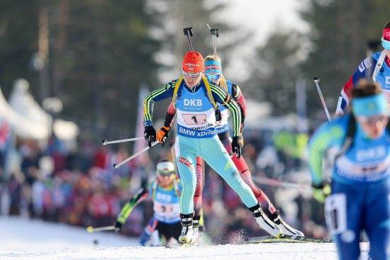 Біатлон. Валя Семеренко відкриє першу гонку для українок на третьому етапі Кубка світу