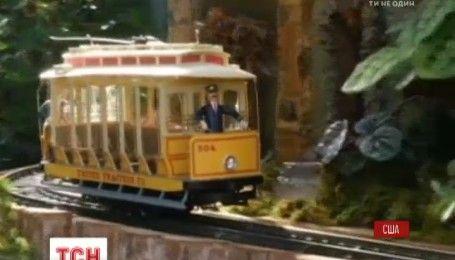 В Нью-Йорке устроят рождественское железнодорожное шоу