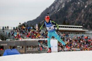 Біатлон. Українка Абрамова потрапила у топ-10 спринту на Кубку IBU