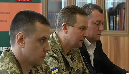 Новый центр реабилитации воинов АТО открыли на территории Михайловского монастыря