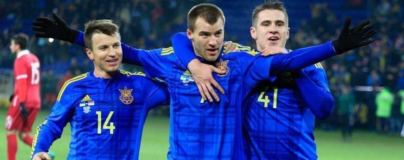 Україна поступилася місцем Ірану в рейтингу найкращих збірних світу