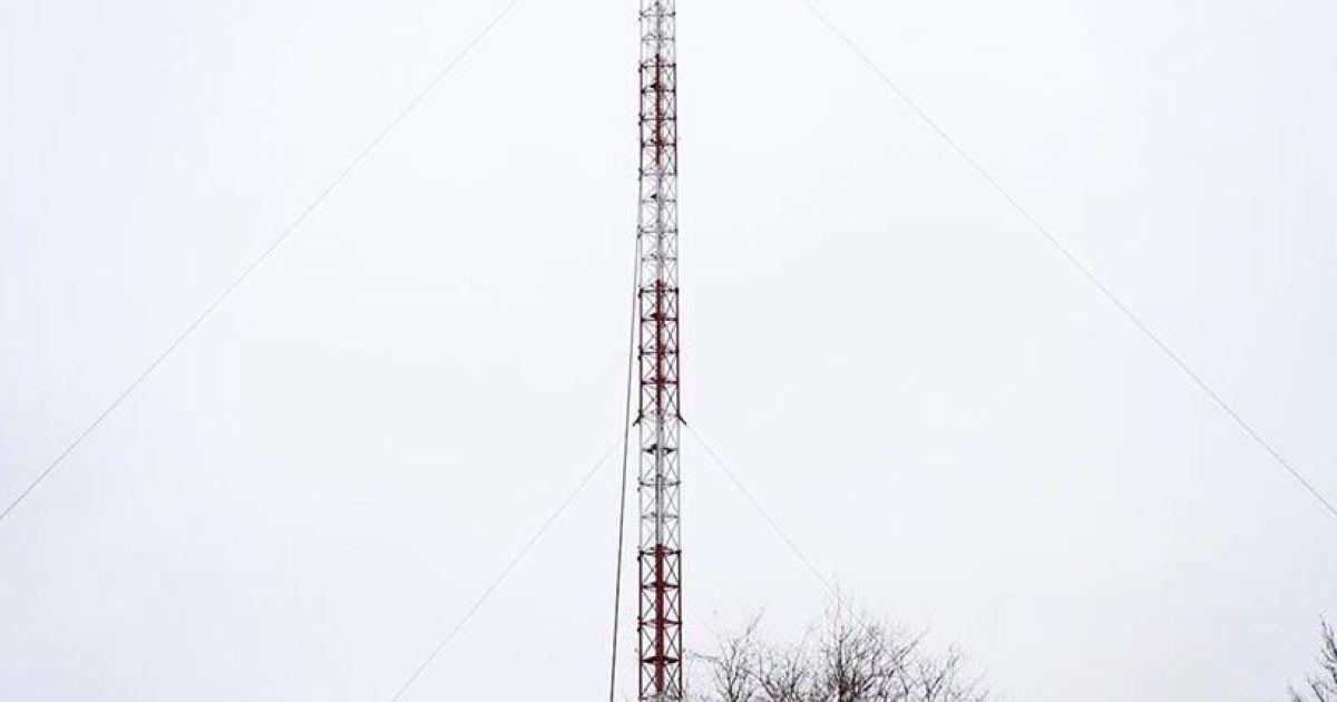 На Карачуне достроили телебашню