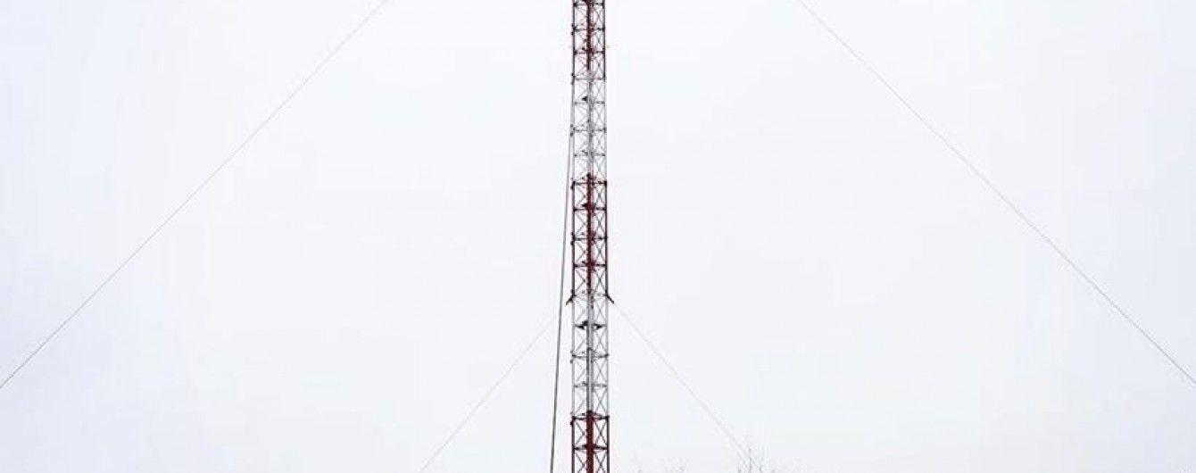 На Донбасі відкрили зруйновану бойовиками телевежу