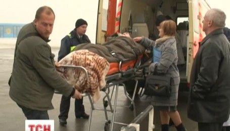 Героя Украины Александра Петраковского отправили на лечение в США