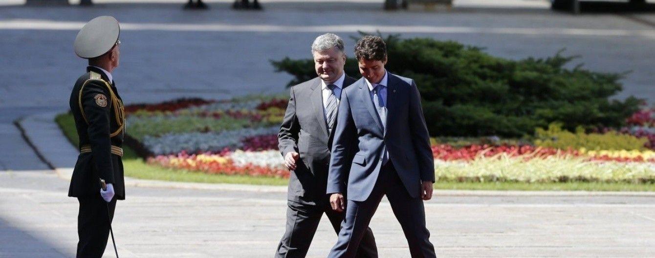Трюдо підтримав Порошенка напередодні саміту G7