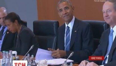 Барак Обама заявил, что США будет поддерживать Украину, несмотря на смену хозяина Белого Дома