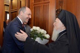Экзархи получили для патриарха Варфоломея приглашение приехать в Украину