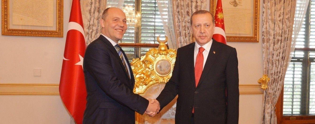 Ердоган висловився на підтримку України та пообіцяв морську блокаду Криму