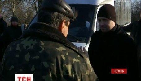 В Чернигове участники АТО устроили экстремальную поездку нахальному водителю маршрутки